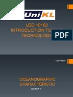 Oceanographic Characteristic
