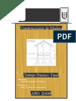 Construcciones de Madera, ejercicio de cargas