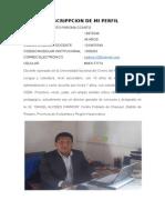 Desc Perfil Tarea 001