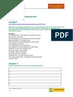 Aspekte1 k6 Internet-projekt