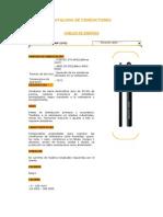 manual de selecion de  Cables de Energía