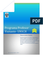 Profesor Visitante Un Sch 2015