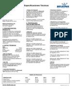 Especificaciones Técnicas Belzona 1251.