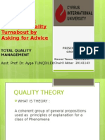 Presentation Quality Management