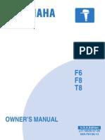 Yamaha f6 User Manual