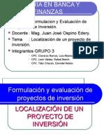 Localización de Un Proyecto