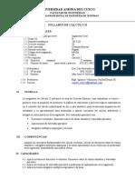 Silabo - Cálculo II - Ing Civil - Ignacio Velasquez Hacha,.docx
