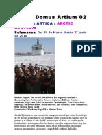 Dossier Prensa Arctic Histeria