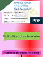 Multiplicadores bancarios