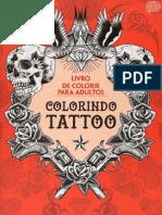 Colorindo Tattoo - Vários Autores