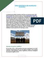 Observatorio Geofisico de Huancayo