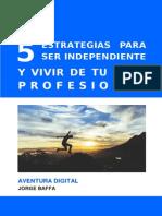 5 Estrategias Para Vivir de Tu Blog