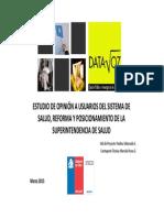 Estudio de Opinión a Usuarios del Sistema de Salud, Reforma y Posicionamiento de la Superintendencia de Salud.pdf