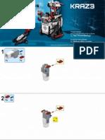 Robot Acompañado Con Un Bicho