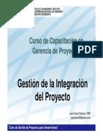 Gestión de Integración Del Proyecto