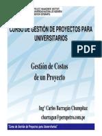 Gestión de Costos Del Proyecto