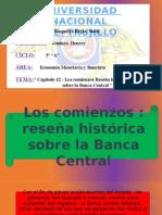Reseña histórica sobre la Banca Central