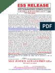 20151130-Press Release Mr g. h. Schorel-hlavka Issue -Bigotry