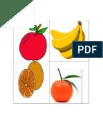 Healthy and Unhealthy Food Flashcard