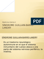 Sindrome Guillain Barre Landry