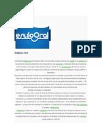 Estilistica Oral.docx