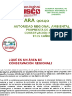 ÁREAS DE CONSERVACIÓN REGIONAL CUSCO