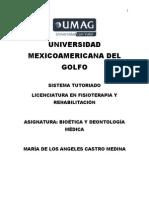 Bioética y Deontología Médica
