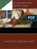 Footwear - Clasps - Cog & Shoe