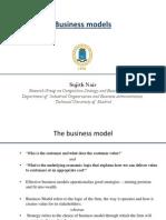 Business model seminar