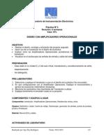 Práctica 3 de Instrumentación Electrónica