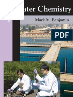 Water Chemistry - Mark Benjamin - 2nd Ed