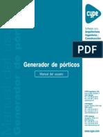 Generador de Pórticos - Manual Del Usuario