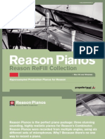 Reason Pianos Leaflet