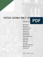 Politicas Culturais UNESCO
