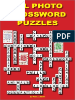 ESL Photo Crossword Puzzles Sample Lessons