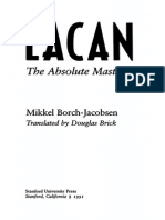 34644269 Lacan the Absolute Master Mikkel Borch Jacobsen
