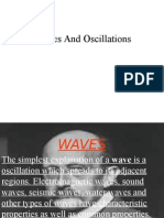 Waves and Oscillation