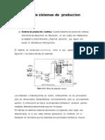 Tipos de Sistemas de Produccion