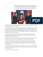 Agreement of China, Japan and South Korea
