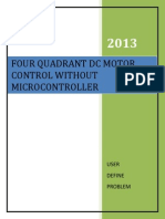 For Quadrant DC motor control