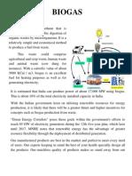 Advantage of Biogas
