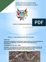 Tema 1 Deformacion de Rocas
