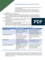 Países Desarrollados y Subdesarrollados y Su Economía Social 5 (2p)