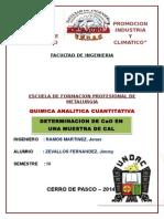 Quimica Analitica Cuantitativa Informe3