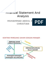 Finansial Statement and Analysis