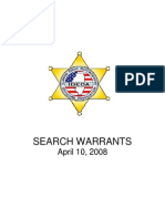 Search Warrant Manual