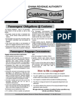 Customs Guide