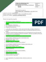 Cuestionario - Sistema Operativo