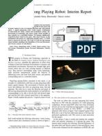 5 DOF Ping Pong Robot