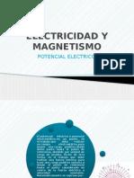 Electricidad y Magnetismo Potencial (1)